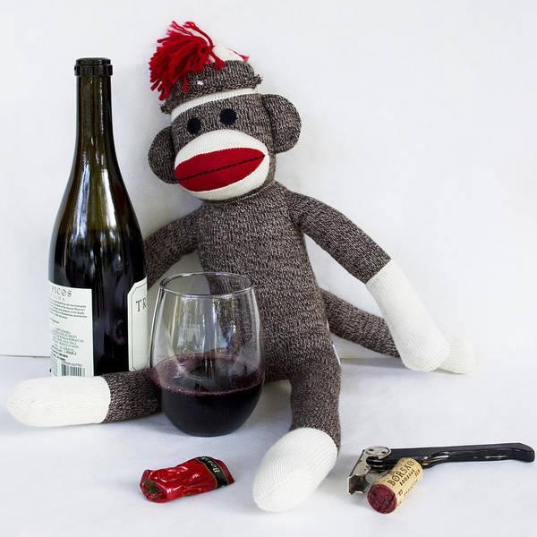 Sock Monkey Photograph - 94 Points Wine Advocate by William Patrick