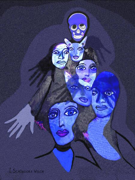 Hallucination Painting - 957 - Boom Doom Hallucination   by Irmgard Schoendorf Welch
