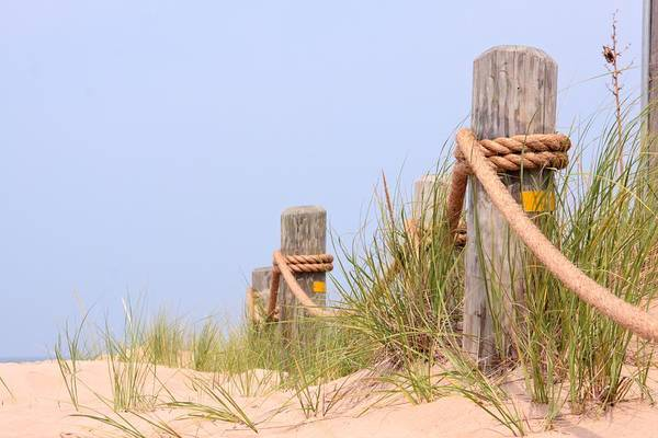 Holland Mi Wall Art - Photograph - 9739 Pilings by Kathy Wesserling