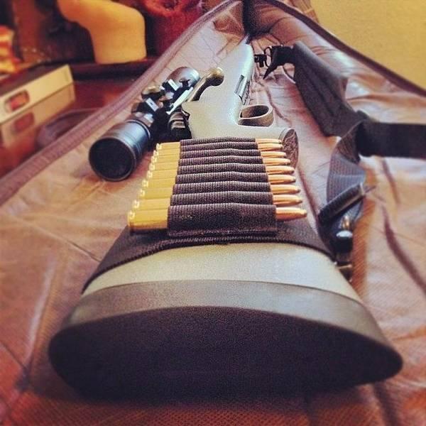 Rifles Photograph - Instagram Photo by Jeremy Kistner