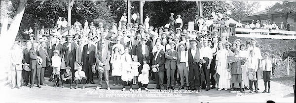 Vernon County Photograph - 9th Annual Excursion Marshall Hall Md by Fred Schutz Collection
