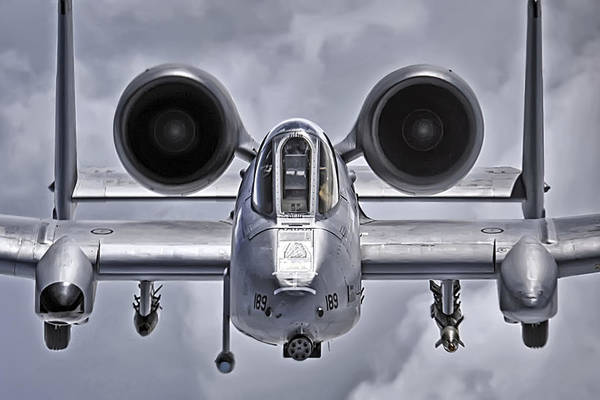 Photograph - A-10 Thunderbolt II by Adam Romanowicz