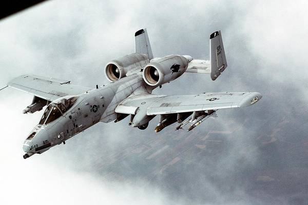 Sharpshooter Wall Art - Photograph - A-10 Thunderbolt II by Celestial Images