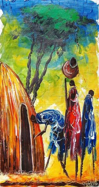 Painting - A 19 by Atanas