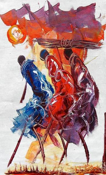 Painting - A 4 by Atanas
