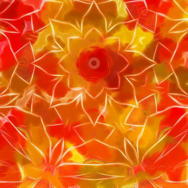 Phantasy Digital Art - A Autumn Night-s Dream by Carlos Vieira