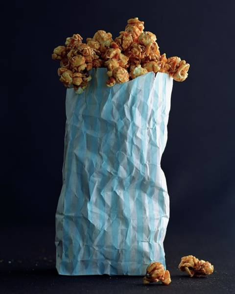 Sweet Photograph - A Bag Of Popcorn by Romulo Yanes