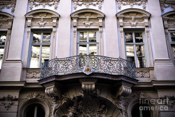 Photograph - A Balcony In Munich by John Rizzuto