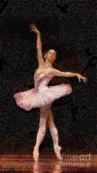 Painting - A Ballerina Is Made Of  by Catherine Lott
