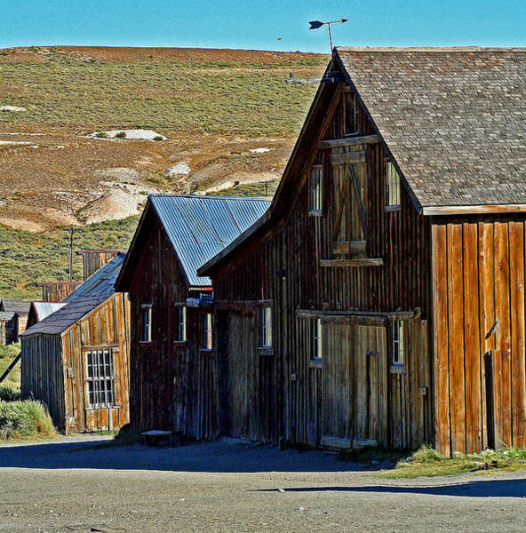 Photograph - A Barn At Bodie California by Joseph Coulombe