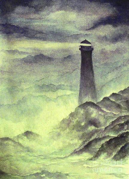 Wall Art - Painting - A Beacon Of Hope by Hazel Holland