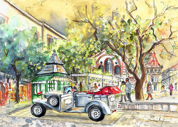 Painting - A Beautiful Car In Budapest by Miki De Goodaboom