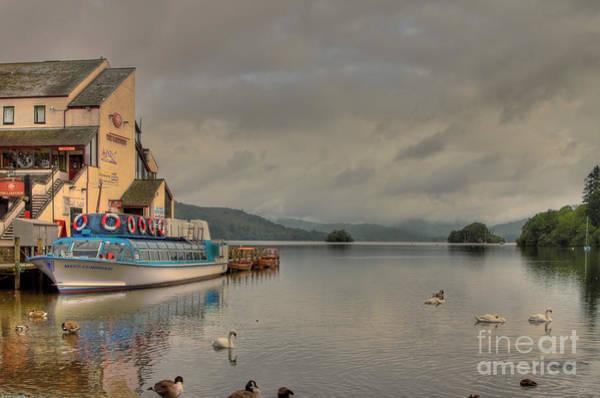 Swan Boats Photograph - A Beautiful Morning by Wobblymol Davis