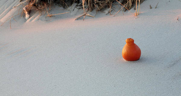 Photograph - A Beautiful Orange Sunset At Jones Beach by JC Findley