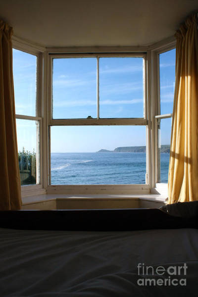 Sennen Cove Photograph - A Bed With A View by Terri Waters
