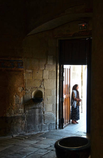 Photograph - A Beggar At The Door Of A Church by RicardMN Photography