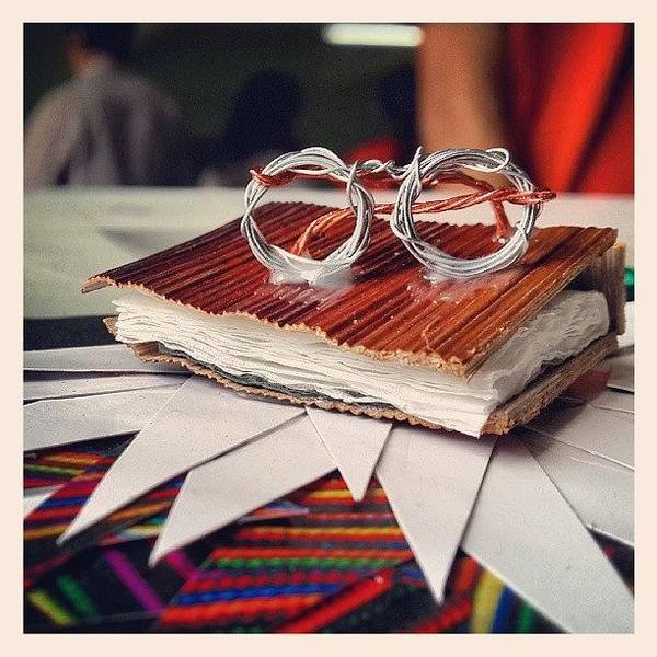 Book Illustration Wall Art - Photograph - A Bit Of Craft, Tiny Book N Specs Made by Nishant Vaidya