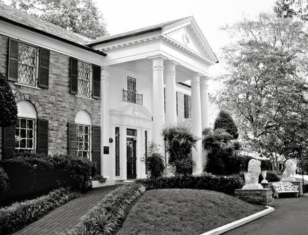 Presley Photograph - A Bit Of Graceland by Julie Palencia