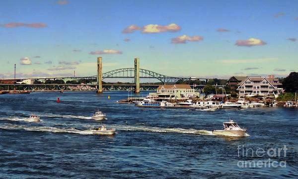 Aft Photograph - A Boat Race by Marcia Lee Jones