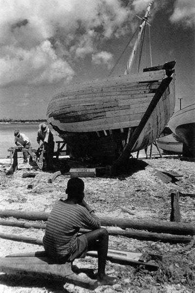 Boat Photograph - A Boatyard In The Bahamas by Ivan Dmitri