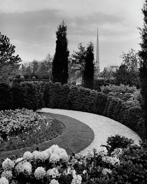 Ornamental Plant Photograph - A Bobbink & Atkins Garden by Ben Schnall