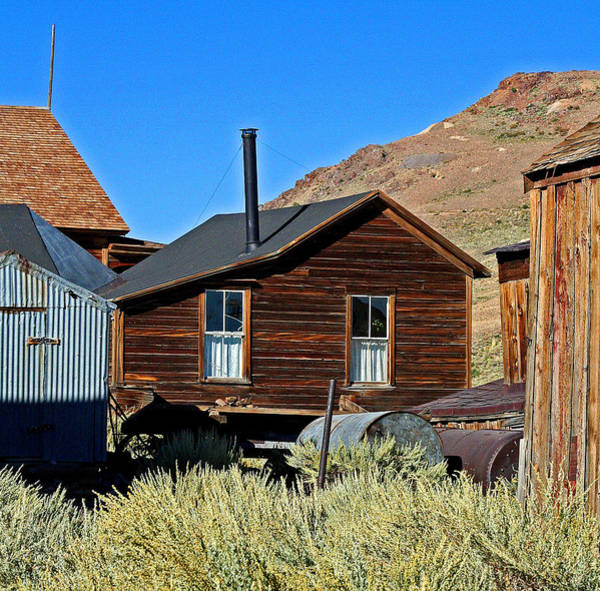 Photograph - A Bodie Cabin by Joseph Coulombe