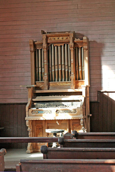 Photograph - a Bodie Music Organ by Joseph Coulombe
