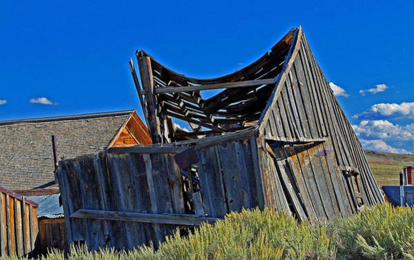 Photograph - A Bodie Vacancy by Joseph Coulombe