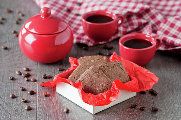 Teapot Photograph - A Box Of Chocolate Cookie by Oxana Denezhkina