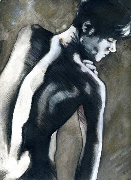 Painting - A Boy Named Shadow by Rene Capone