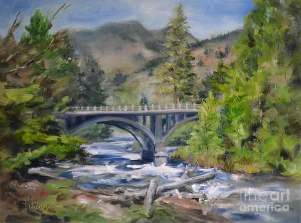Painting - A Bridge For Us by Lori Pittenger