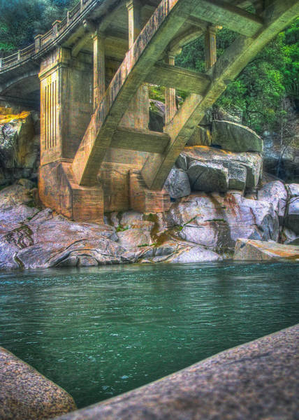 Yuba River Photograph - A Bridge Over Water by Jennai Patterson