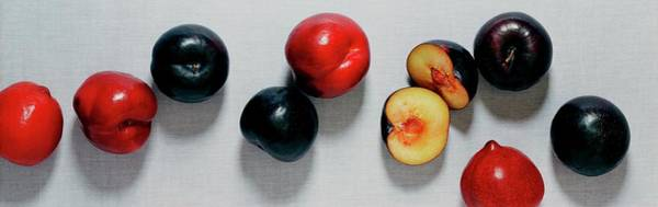 Photograph - A Bunch Of Plums by Romulo Yanes