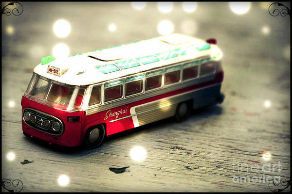 Wall Art - Photograph - A Bus To Shanghai by Sophie Vigneault