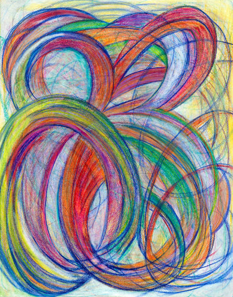 Mixed Colors Drawing - A By-product-vertical by Kelly K H B