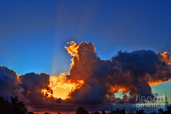 Norco Photograph - A California Sunset - 3 by Tommy Anderson