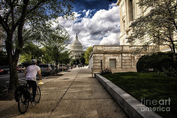 Photograph - A Capitol Day by Terry Rowe