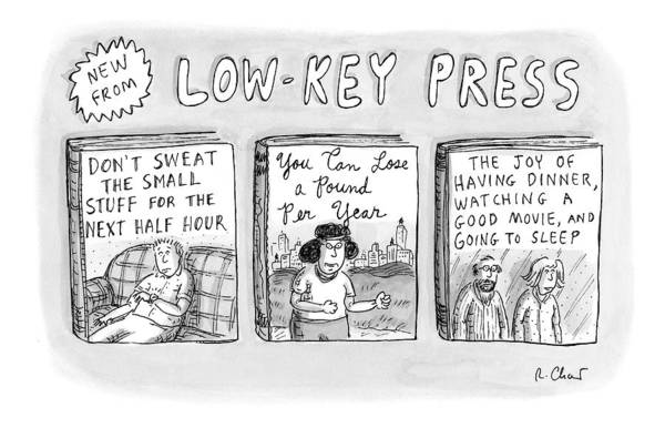 Joy Drawing - A Catalog From A Publisher Called Low-key Press by Roz Chast