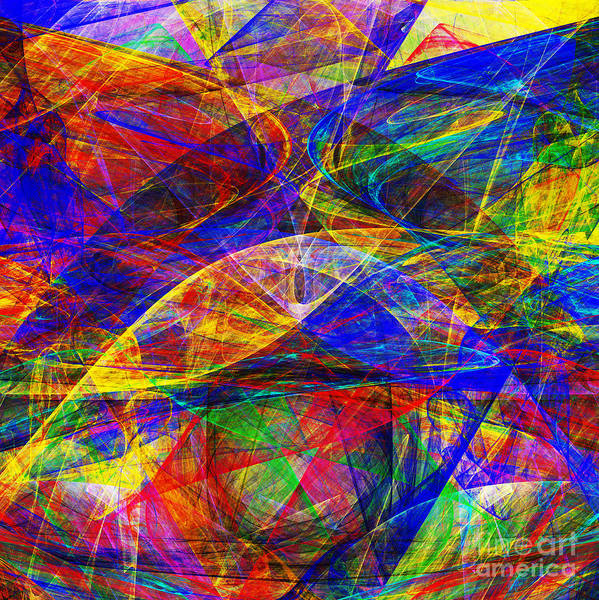 Digital Art - A Cats Dream 20130512 Square by Wingsdomain Art and Photography
