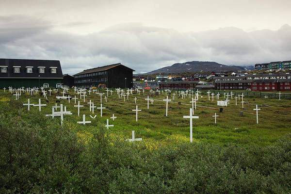 Famous Cemeteries Photograph - A Cemetery In The Arctic Community by Todd Korol