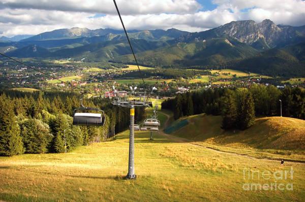High Tatras Wall Art - Photograph - A Chair-lift by Michal Bednarek