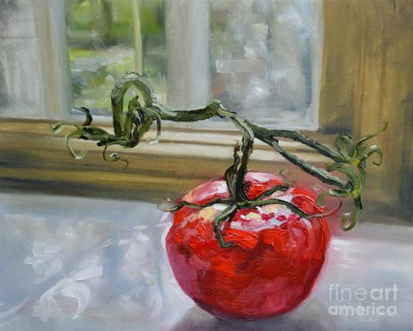 Painting - A Chef's Muse by Lori Pittenger