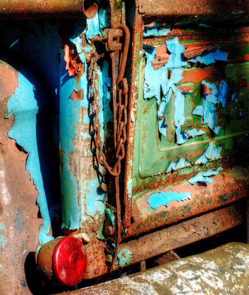 Rusty Chain Wall Art - Photograph - A Chevy Tailgate by Greg and Chrystal Mimbs