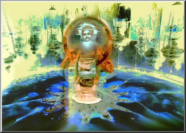 Digital Art - A Child Is Born - Jesus 2009 by Glenn  Bautista