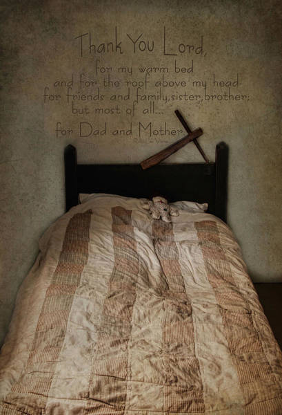Photograph - A Child's Prayer by Robin-Lee Vieira