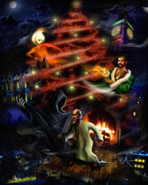 Digital Art - A Christmas Carol by Alessandro Della Pietra