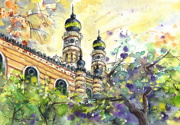 Painting - A Church In Budapest 01 by Miki De Goodaboom