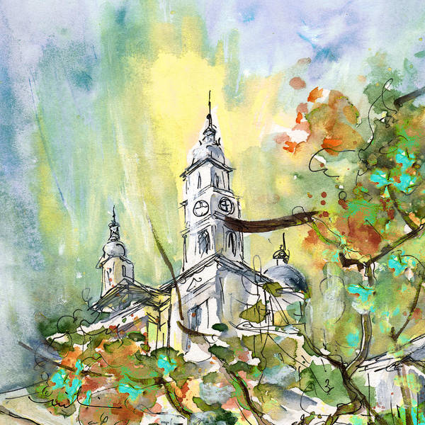 Painting - A Church In Budapest 02 by Miki De Goodaboom