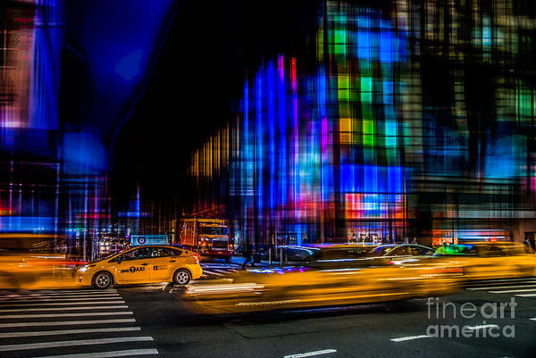 Photograph - a city full of colors II by Hannes Cmarits