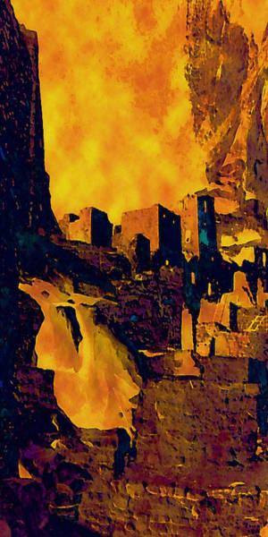 Digital Art - A Cliff Palace by David Hansen